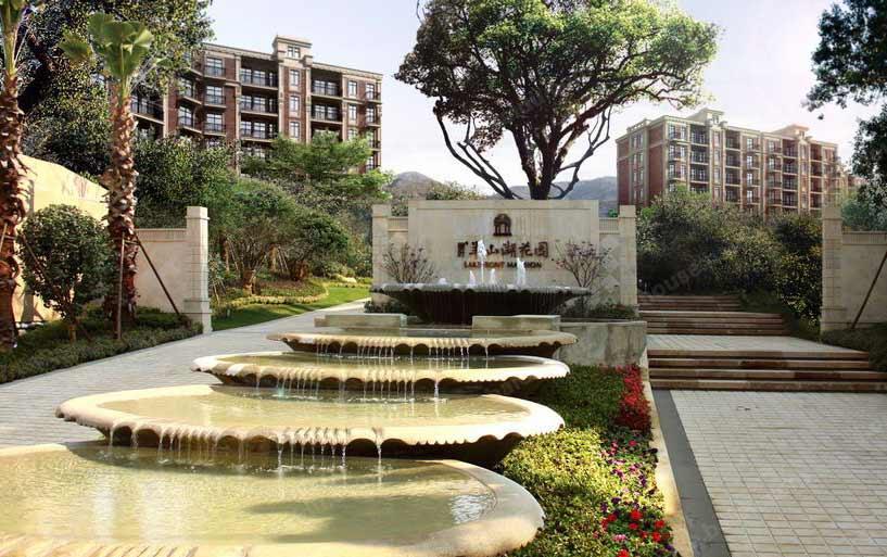羊山湖花园净水施工